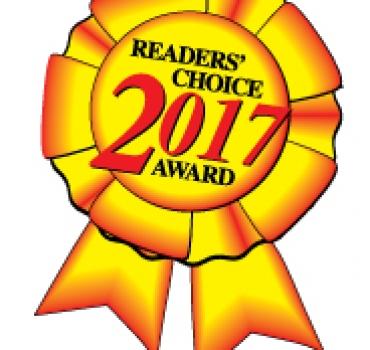 Reader's Choice Award Winner 2017