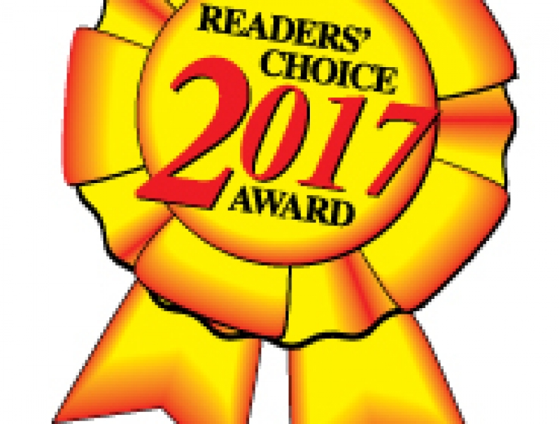 Reader's Choice Award Winner 2017